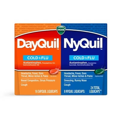 vicks dayquil nyquil liquicaps